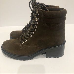 Steve Madden Genny Combat Boots Size 7.5